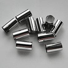 Korálky - KRúrka 10x6mm/otvor 5,5mm-plat-1ks - 5285728_