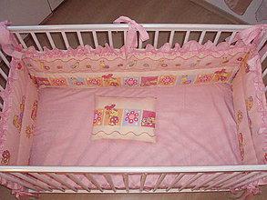 Textil - Hniezdo do detskej postieľky - 5285336_