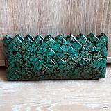 Kabelky - smaragdovozelená kabelka - 5284784_