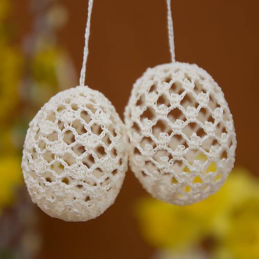 Dekorácie - Smotanové vajíčka-2 - 5286201_