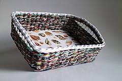 Košík papierový - More | veľký
