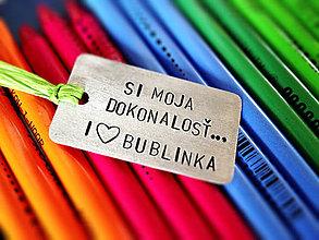 Kľúčenky - I LOVE.. / 2mm hrúbka - 5293319_