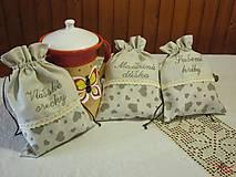 Úžitkový textil - Srdiečkové vrecúško s čipkou - 5292961_