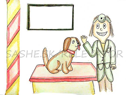 Svetový veterinárny deň - pohľadnica (psík)