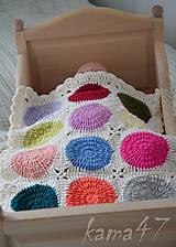 Hračky - Veselá deka pre bábiky II. - 5295047_