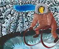 Obrazy - Eskimák - originál - 5296049_