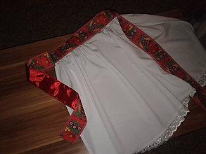 Iné oblečenie - svadobná zásterka alebo ku kroju - 5293819_