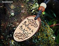 Náhrdelníky - Believe in magic  - 5300939_