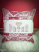 "Úžitkový textil - Vankúšik "" silák Peter"" - 5300703_"