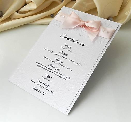 d035e813ec63 Svadobné menu Pearl na objednávku   Anije - SAShE.sk - Handmade ...