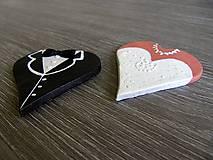 Darčeky pre svadobčanov - svadobný darček, menovka - 5300602_