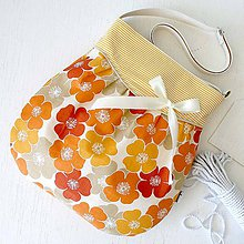 Kabelky - Miss romantic (orange) - 5299464_