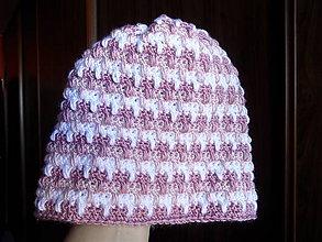 Detské čiapky - trojfarebná letná čiapočka - 5300252_
