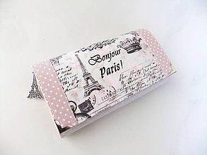 Peňaženky - Červánky v Paříži - 17 cm peněženka i na karty - 5297679_