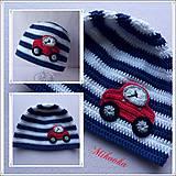 Detské čiapky - ciapka auto - 5298677_