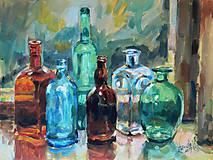 Obrazy - Fľaše II. - 5299075_