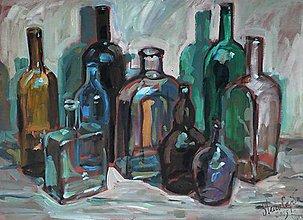 Obrazy - Fľaše III. - 5299147_