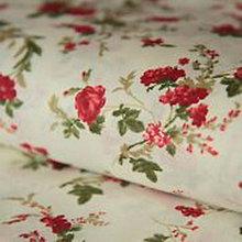 Textil - Bavlnené plátno kvety - 5300274_
