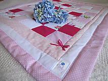 Textil - Ruže a maliny. - 5302296_