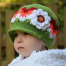 Detské čiapky - Prechodná šiltovka...