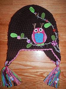 Detské čiapky - Sovičková - 5305556_