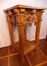 Bukový viktoriánsky stôl
