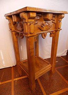 Nábytok - Bukový viktoriánsky stôl - 5304149_