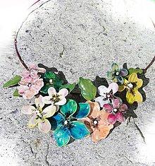 Náhrdelníky - garden flovers 5 - 5302582_