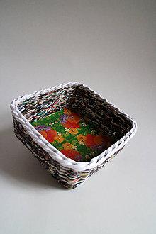 Košíky - Košík papierový - Veľká noc - 5305908_