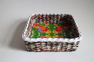 Košíky - Košík papierový - Veľká noc I - 5305932_