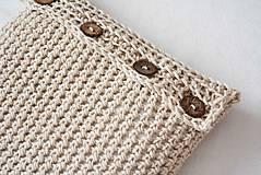 Úžitkový textil - _VLNeNý... poťah... 40 x 40 cm - 5307827_