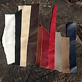 Suroviny - Ústrižky kože (Rôzne farby) - 5306689_