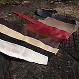 Suroviny - Ústrižky kože (Rôzne farby) - 5306691_