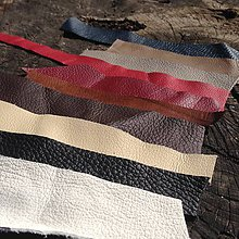 Suroviny - Ústrižky kože (Rôzne farby) - 5306690_