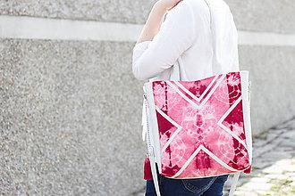 Veľké tašky - Velká s batikou - 5308803_