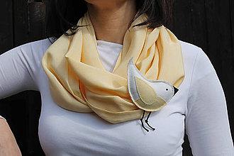 Šatky - Už aj vrabce čvirikajú ... - 5311353_
