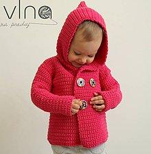 Detské oblečenie - Kabátiko - svetrík - 5311654_