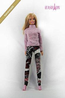 Hračky - Abstrakt legíny pre Barbie - 5309342_