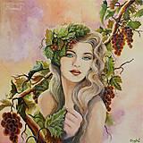 """Obrazy - ...""""Vínna réva"""", reprodukcia - 5309590_"""