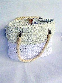 Kabelky - Plážový košík Ecru W - - 5310193_