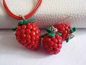 Sady šperkov - malinova sada - 5311148_