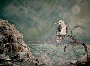 Obrazy - skalnaté veterné pobrežie - 5316472_