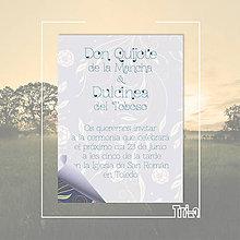 Papiernictvo - Don Quijot+Dulcinea modré - 5316328_
