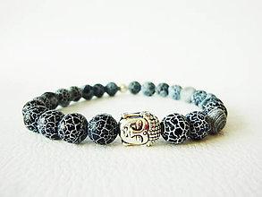 Šperky - Pánsky energický náramok s achátom - 5313742_
