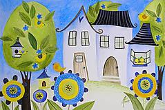 Kresby - Keď je nebo modré - 5314060_