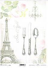Papier - Ryžový papier Príbor 710 - 5314030_