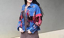 Kabáty - art-gypsy-hippie bunda festivalová - 5317729_