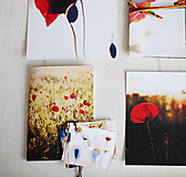 Papiernictvo - Makový papierový balíček - sada - 5318526_
