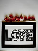 Obrazy - Jednoducho láska... - 5317612_