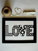Obrazy - Jednoducho láska... - 5317613_
